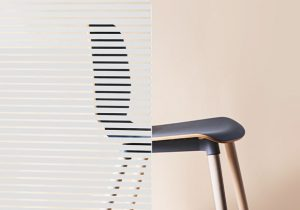 Lines & Stripes 213 – Durable Design Glass Film - Image 1