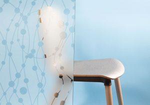 Circles & Squiggles 540 – Durable Design Glass Film - Image 1