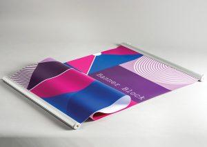 Banner Block – Aluminium Extrusion for Digital Prints - Image 1