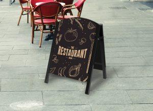 Premier Chalk A-Board – For Pubs, Restaurants and Cafés - Image 1
