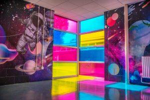Transparent Glass Decoration Vinyls
