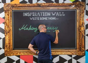 BB 910 – High-Quality Blackboard Film for Chalk And Liquid Chalk Pens - Image 1