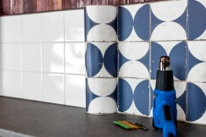 Vinyl for Wrapping Tiles